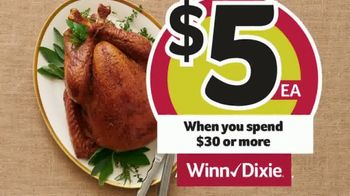 Winn-Dixie TV Spot, 'The Perfect Holiday Feast: $5 Turkey' - Thumbnail 5