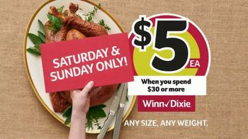 Winn-Dixie TV Spot, 'The Perfect Holiday Feast: $5 Turkey' - Thumbnail 6