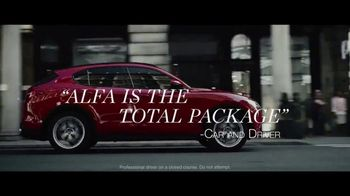 Alfa Romeo TV Spot, 'Critic's Choice: Given Life' [T1] - 3499 commercial airings