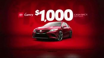 Toyota Black Friday Takeover TV Spot, 'Camry, RAV4 and Highlander' [T2] - Thumbnail 3