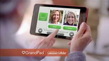 Consumer Cellular GrandPad TV Spot, '2018 Holidays: $20 Credit'