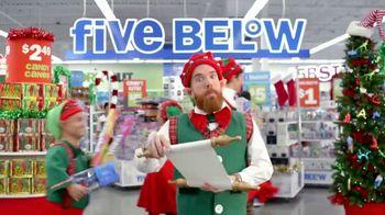 Five Below TV Spot, 'Santa's List' - 3 commercial airings