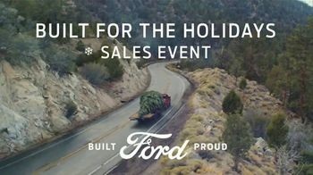Ford Built for the Holidays Sales Event TV Spot, 'Bring the Gifts & the Tree' [T2]