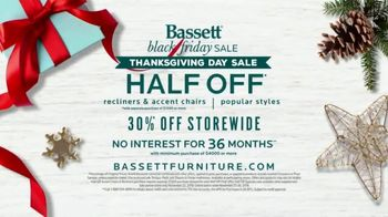 Bassett Black Friday Sale TV Spot, 'Gift Yourself This Year' - Thumbnail 9