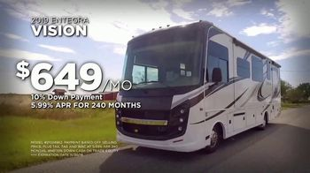 Lazydays Salute to Savings Sale TV Spot, '2019 Entegra Vision' - Thumbnail 7