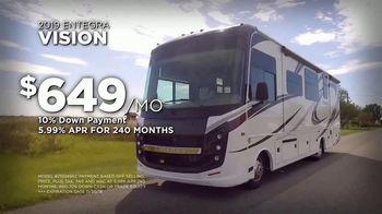 Lazydays Salute to Savings Sale TV Spot, '2019 Entegra Vision' - Thumbnail 8