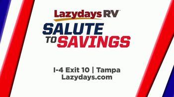 Lazydays Salute to Savings Sale TV Spot, '2019 Entegra Vision' - Thumbnail 9