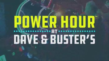 Dave and Buster's Power Hour TV Spot, 'Video Game Play' - Thumbnail 2