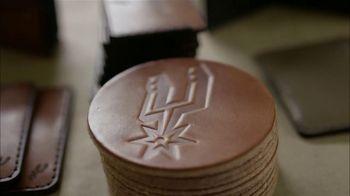 Bexar Goods TV Spot, 'Handcrafted Leather Goods: San Antonio Spurs' Featuring Matt Bonner - Thumbnail 10