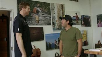 Bexar Goods TV Spot, 'Handcrafted Leather Goods: San Antonio Spurs' Featuring Matt Bonner - Thumbnail 2