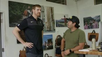 Bexar Goods TV Spot, 'Handcrafted Leather Goods: San Antonio Spurs' Featuring Matt Bonner - 2 commercial airings