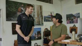 Bexar Goods TV Spot, 'Handcrafted Leather Goods: San Antonio Spurs' Featuring Matt Bonner - Thumbnail 4