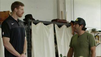 Bexar Goods TV Spot, 'Handcrafted Leather Goods: San Antonio Spurs' Featuring Matt Bonner - Thumbnail 7