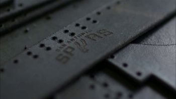 Bexar Goods TV Spot, 'Handcrafted Leather Goods: San Antonio Spurs' Featuring Matt Bonner - Thumbnail 9
