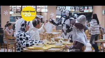 Sprint TV Spot, 'Sprint te da el LG V40 por solo $20 dólares al mes' [Spanish] - 271 commercial airings