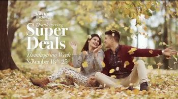 Jewelry Exchange Thanksgiving Super Deals TV Spot, 'Studs and Solitaires' - Thumbnail 2