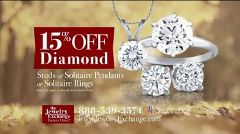 Jewelry Exchange Thanksgiving Super Deals TV Spot, 'Studs and Solitaires' - Thumbnail 3
