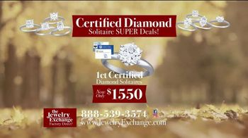 Jewelry Exchange Thanksgiving Super Deals TV Spot, 'Studs and Solitaires' - Thumbnail 4