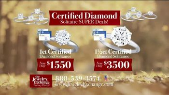 Jewelry Exchange Thanksgiving Super Deals TV Spot, 'Studs and Solitaires' - Thumbnail 5