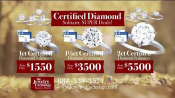 Jewelry Exchange Thanksgiving Super Deals TV Spot, 'Studs and Solitaires' - Thumbnail 6