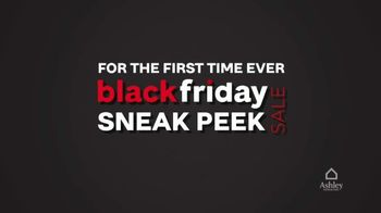Ashley HomeStore Black Friday Sneak Peek Sale TV Spot, 'First Time Ever'