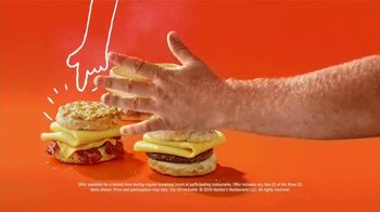 Hardee's Breakfast Sandwiches TV Spot, 'Made-From-Scratch Biscuits' Featuring David Koechner - Thumbnail 10