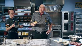 Hardee's Breakfast Sandwiches TV Spot, 'Made-From-Scratch Biscuits' Featuring David Koechner - Thumbnail 5
