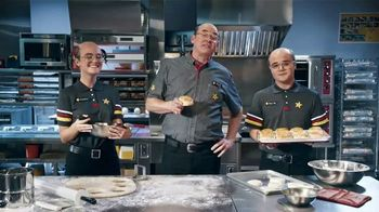 Hardee's Breakfast Sandwiches TV Spot, 'Made-From-Scratch Biscuits' Featuring David Koechner - Thumbnail 7