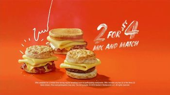 Hardee's Breakfast Sandwiches TV Spot, 'Made-From-Scratch Biscuits' Featuring David Koechner - Thumbnail 9