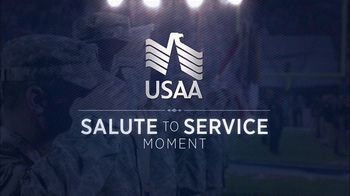 USAA TV Spot, 'Salute to Service Moment: The Roar of a Military Flyover' - Thumbnail 1