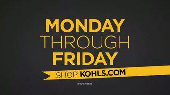 Kohl's Black Friday Deals TV Spot, 'Toys, Pendants and Vacuums' - Thumbnail 8