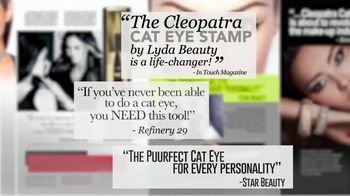 Lyda Beauty Cleopatra Cat Eye Stamp TV Spot, 'Sexy and Mysterious' - Thumbnail 3