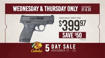 Bass Pro Shops 5 Day Sale TV Spot, 'Pistol and Ammo' - Thumbnail 5