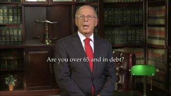 Walker & Walker Law Offices TV Spot, 'Over 65 and in Debt: Bankruptcy' - Thumbnail 2