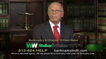 Walker & Walker Law Offices TV Spot, 'Over 65 and in Debt: Bankruptcy' - Thumbnail 5
