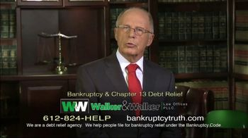 Walker & Walker Law Offices TV Spot, 'Over 65 and in Debt: Bankruptcy' - Thumbnail 6
