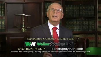 Walker & Walker Law Offices TV Spot, 'Over 65 and in Debt: Bankruptcy' - Thumbnail 7