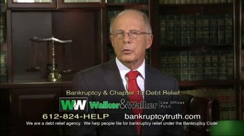 Walker & Walker Law Offices TV Spot, 'Over 65 and in Debt: Bankruptcy' - Thumbnail 8