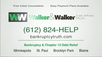 Walker & Walker Law Offices TV Spot, 'Over 65 and in Debt: Bankruptcy' - Thumbnail 9
