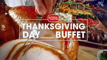 Golden Corral Thanksgiving Day Buffet TV Spot, 'Celebrate' - Thumbnail 1
