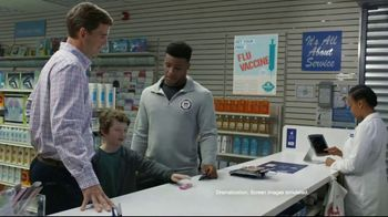 VISA TV Spot, 'NFL: Young Fan' Featuring Eli Manning, Saquon Barkley - Thumbnail 3