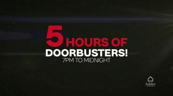 Ashley HomeStore Black Friday TV Spot, 'Five Hours of Doorbusters' - Thumbnail 3