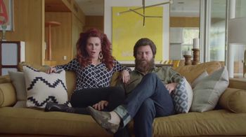 Sling TV Spot, 'Freedom: Free Roku Express' Featuring Nick Offerman, Megan Mullally - Thumbnail 1