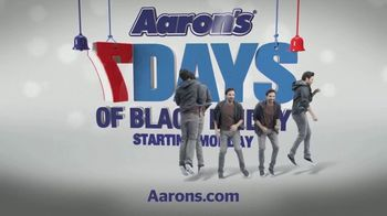 Aaron's Seven Days of Black Friday TV Spot, 'Free Delivery and Setup' - Thumbnail 9