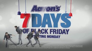 Aaron's Seven Days of Black Friday TV Spot, 'Free Delivery and Setup' - Thumbnail 1