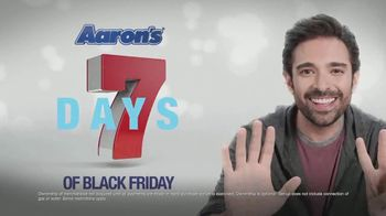 Aaron's Seven Days of Black Friday TV Spot, 'Free Delivery and Setup' - Thumbnail 7
