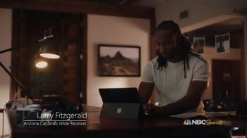 Microsoft Surface TV Spot, 'NBC: Nomad Hill Adventure' Featuring Larry Fitzgerald - 3 commercial airings