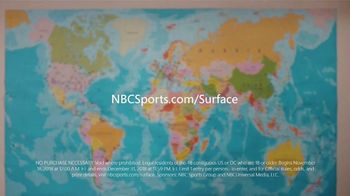 Microsoft Surface TV Spot, 'NBC: Nomad Hill Adventure' Featuring Larry Fitzgerald - Thumbnail 9