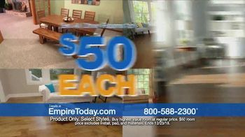 Empire Today $50 Room Sale TV Spot, 'Update Your Home for the Holidays' - Thumbnail 3