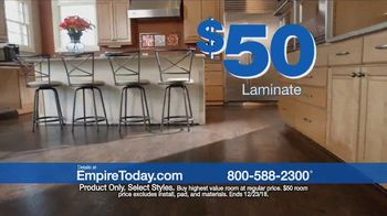 Empire Today $50 Room Sale TV Spot, 'Update Your Home for the Holidays' - Thumbnail 4